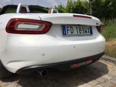 Fiat 124 Spider Cabrio Heck