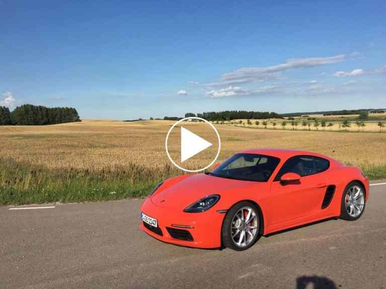 Der neue Porsche Cayman auf der Rennstrecke bei Malmö