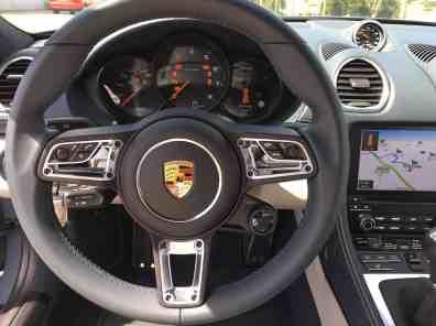 Porsche Cayman Lenkrad