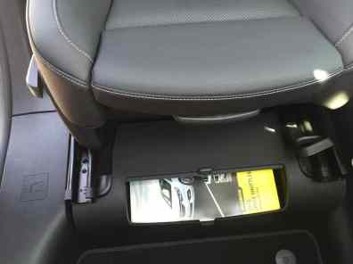 Opel Zafira Beifahrersitz
