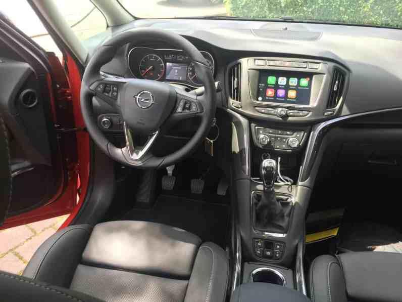 Opel Zafira Cockpit