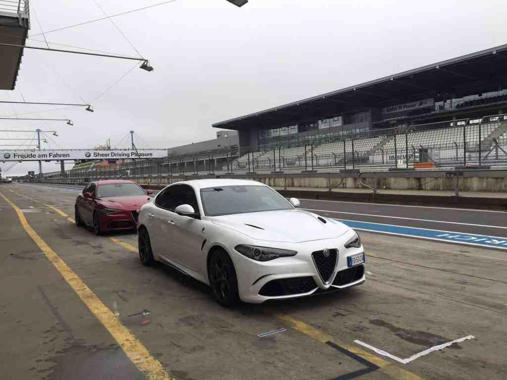 Mit der neuen Alfa Romeo Giulia auf dem Nürburgring