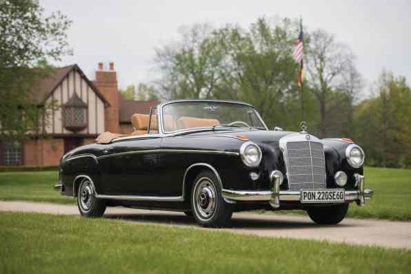 Mercedes-Benz 220 SE Cabriolet von 1960