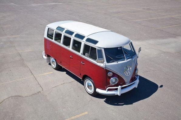 Volkswagen Typ 2 (Samba-Bus) von 1966