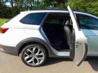 Seat Leon X-Perience 2.0 TDI Rücksitze