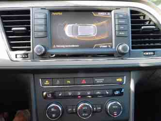 Seat Leon X-Perience 2.0 TDI Monitor