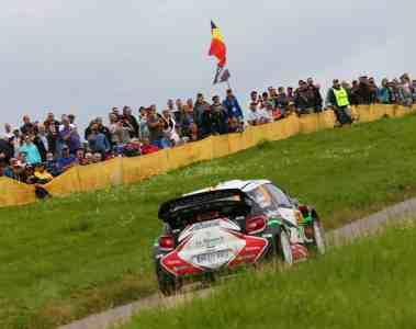 Rallye Deutschland nach Unfall unterbrochen