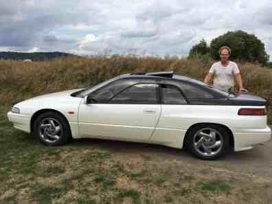 Subaru SVX Seitenansicht