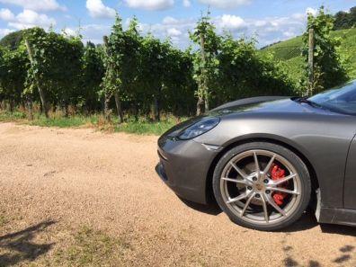 Porsche 718 Boxter S Front