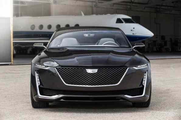 Cadillac Escala Concept Front
