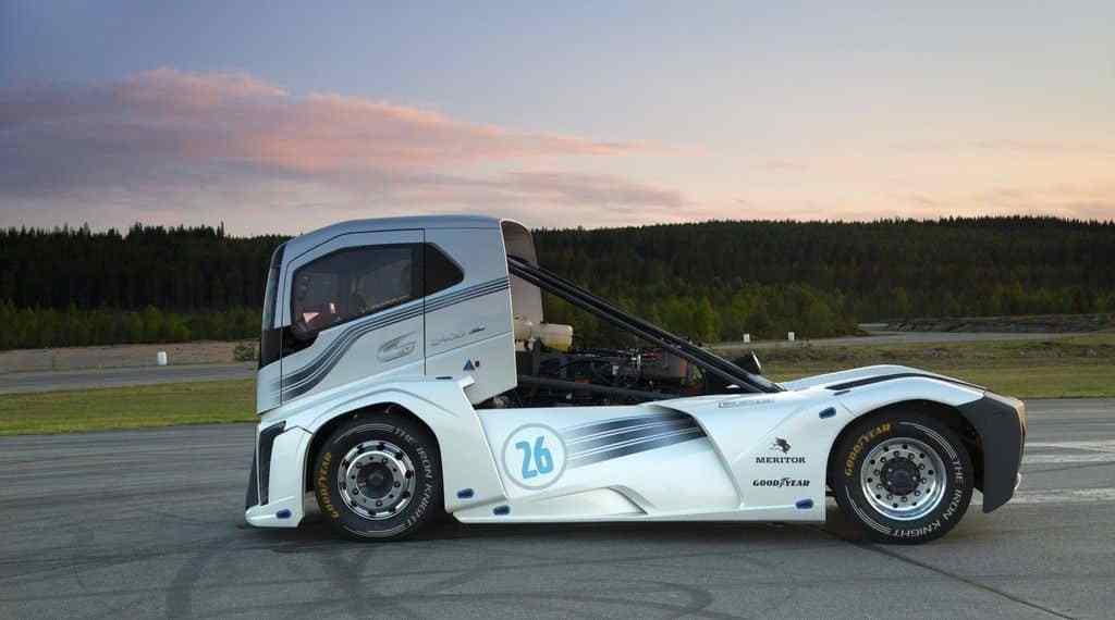 Volvo-Lkw bricht zwei Geschwindigkeitsrekorde