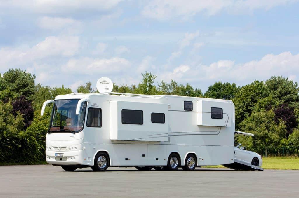 Luxus-Wohnmobil: Vario Perfect 1200 Platinum.