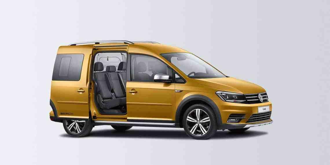 """""""Alltrack""""-Paket für den VW Caddy Beach"""