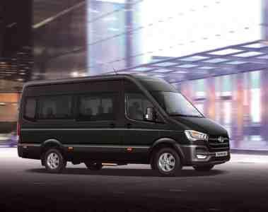 Hyundai H350 jetzt auch als 14-sitziger Bus
