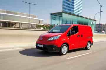 Nissan e-NV200 ist Elektro-Stadtlieferwagen des Jahres
