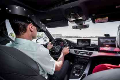 Audi VR-Brille Driving