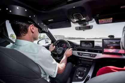 Audi VR-Brille Driving