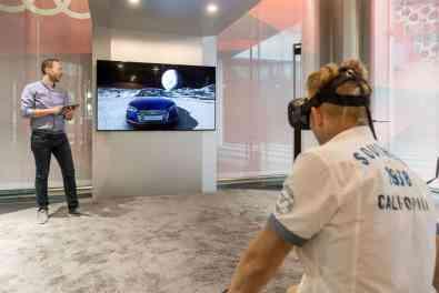 Audi Virtual Reality Konfigurator