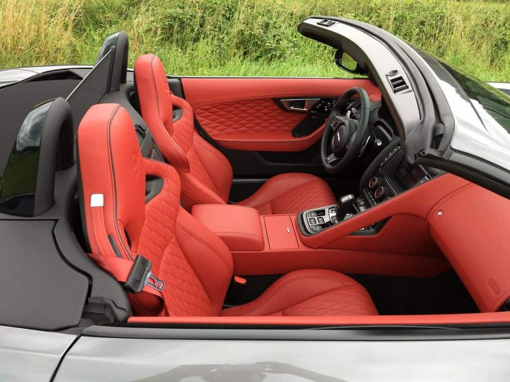 Jaguar F-Type SVR Sportsitz