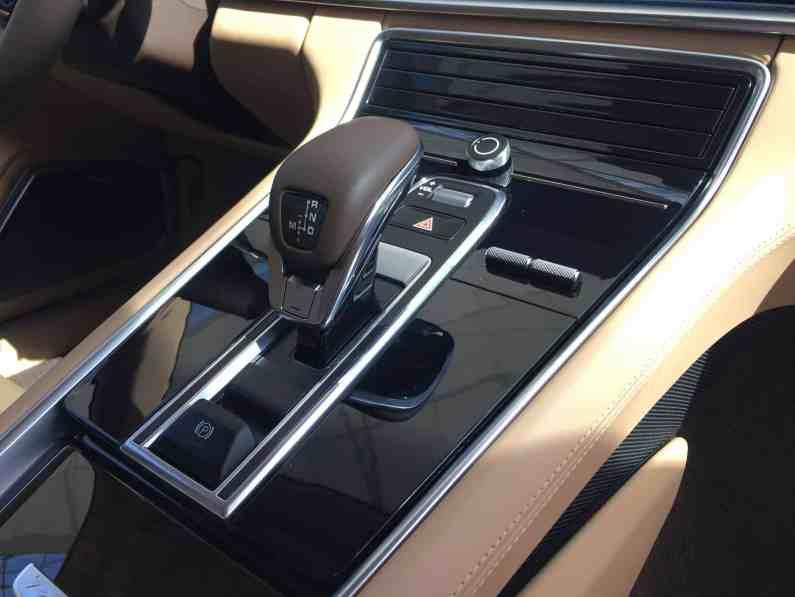 Porsche Panamera Mittelkonsole