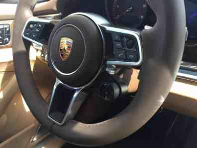Porsche Panamera Lenkrad