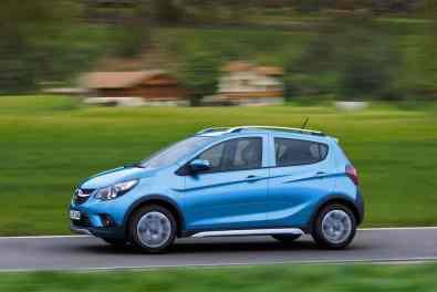 Opel Karl Seitenansicht