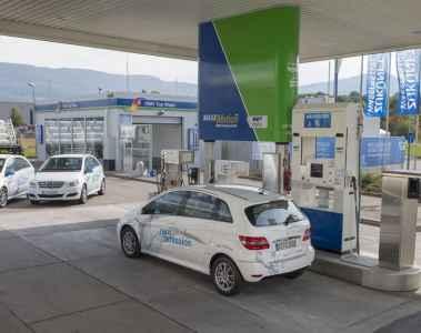 In Metzingen kann jetzt Wasserstoff getankt werden