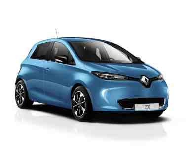 Zoe von Renault jetzt auch 400 Kilometer elektrisch unterwegs