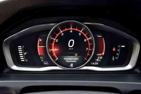 Volvo V60 Polestar Display