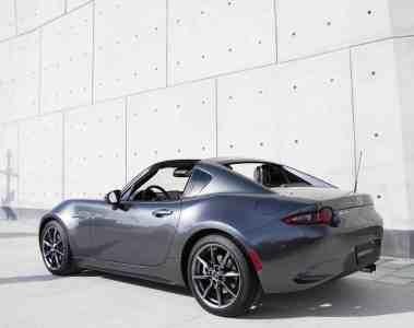 Produktion des Mazda MX-5 RF beginnt