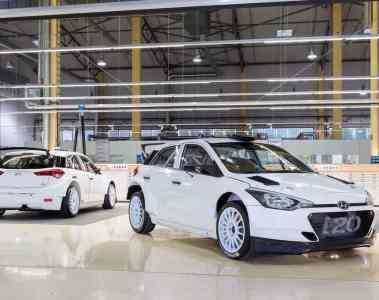 Hyundai i20 R5 in Deutschland am Start