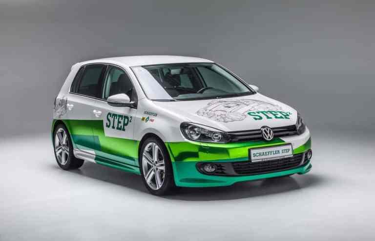 Schaeffler zeigt Konzeptfahrzeug Step2