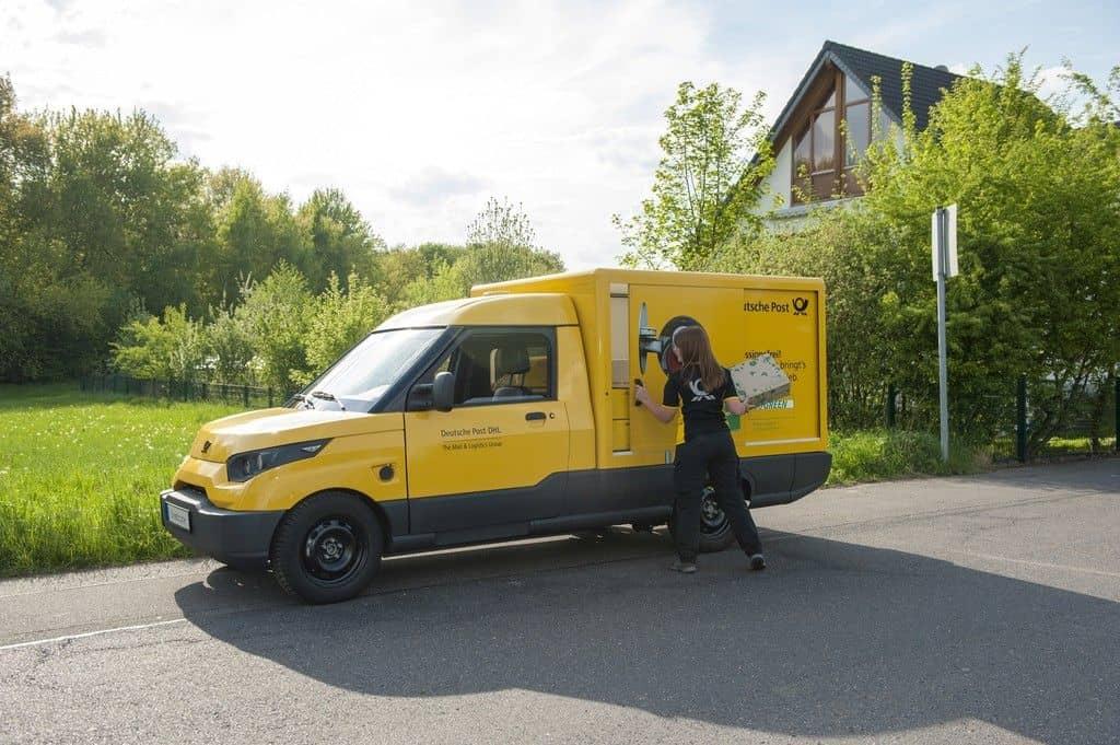 Street Scooter der Deutschen Post