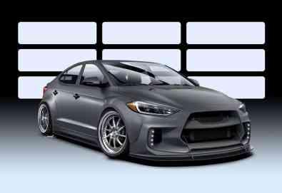 Hyundai AKR Road Racer Elantra Concept
