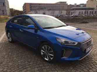 Hyundai IONIQ-Hybrid Seitenansicht