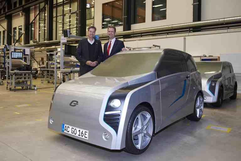 Bosch und E.Go Mobile schließen Kooperationsvertrag für E-Auto