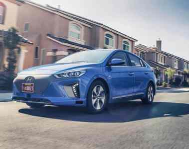 Hyundai lässt einen Ioniq autonom fahren
