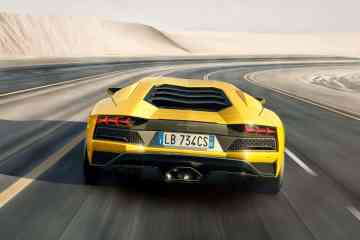 Lamborghini Aventador S: Noch ne Schippe draufgelegt