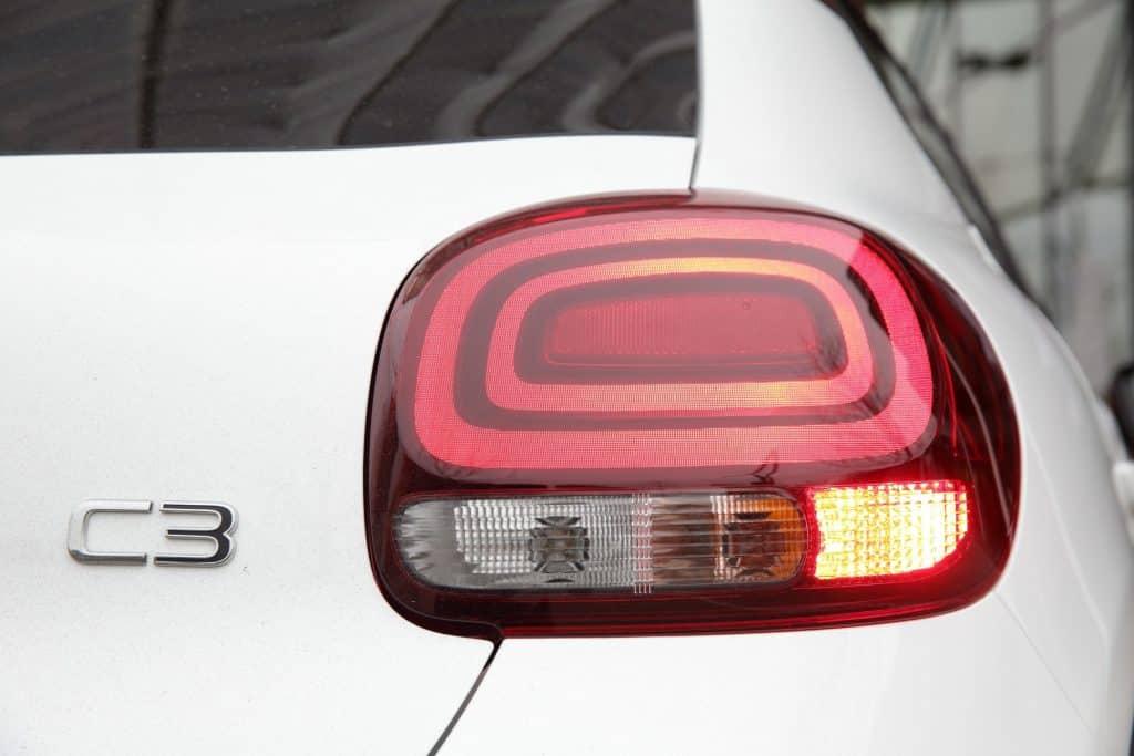 Citroën C3 Rückleuchte