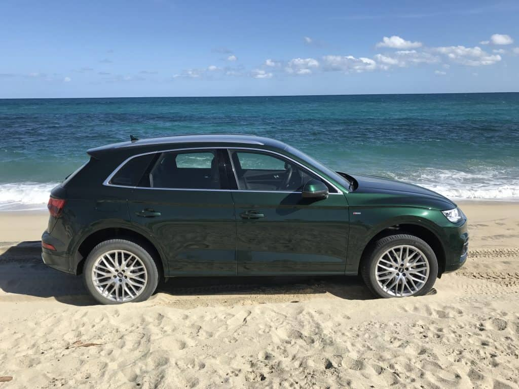 Audi Q5 Seitenansicht
