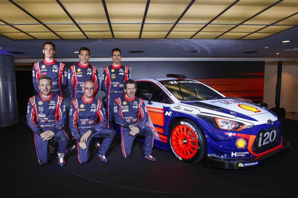 Hyundai WRC-Fahrerkader