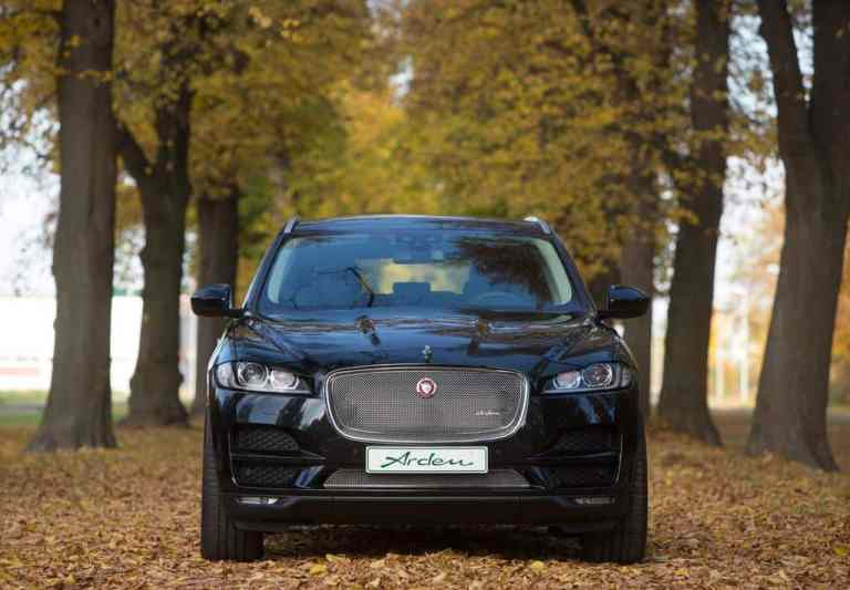 Arden veredelt und tunt den Jaguar F-Pace