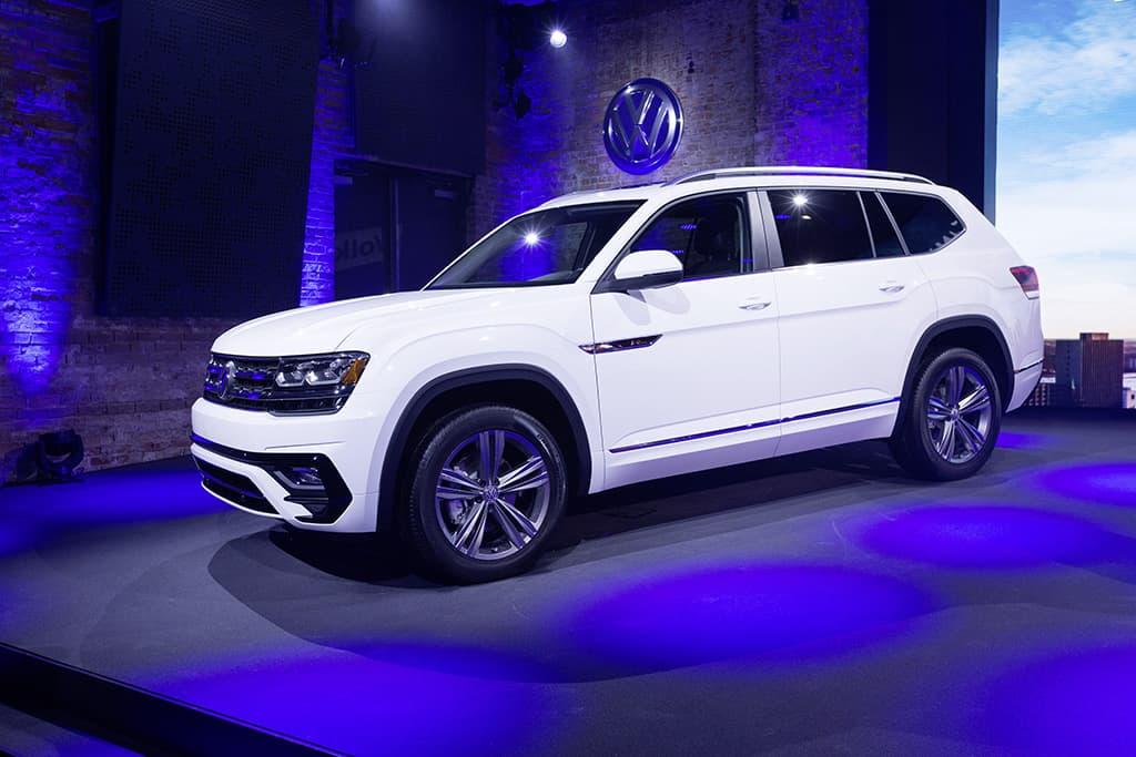 Volkswagen Media Preview am Vorabend der NAIAS Detroit 2017