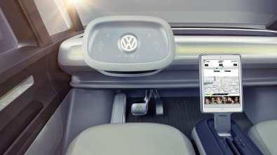 Volkswagen I.D. Buzz vollautmatisches Lenkrad