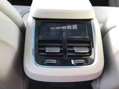 Volvo V90 Cross Country Steuerung Fond Klimatisierung