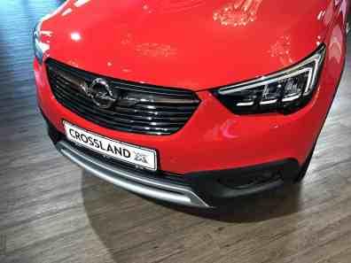 Opel Crossland X Kühlergrill