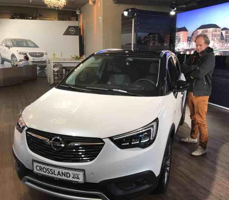 Opel Crossland X - Erster Blick auf den neuen PSA-Opel