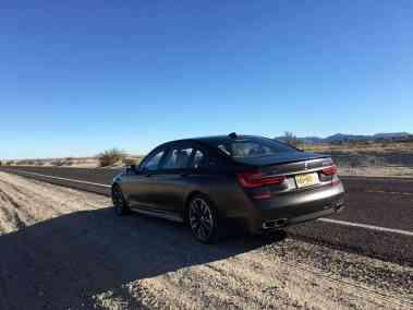 BMW M760Li xDrive Heck