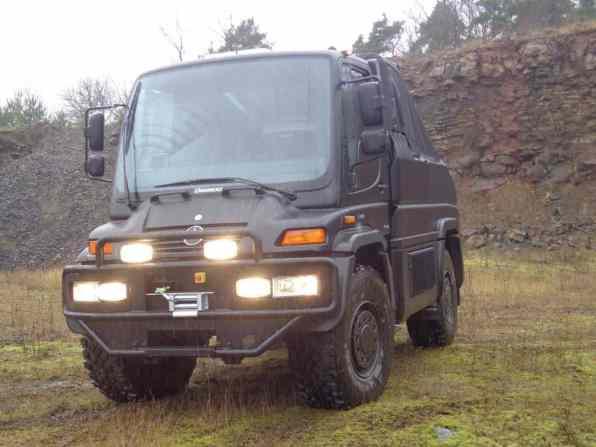Hartmann Unimog Jagdwagen Front