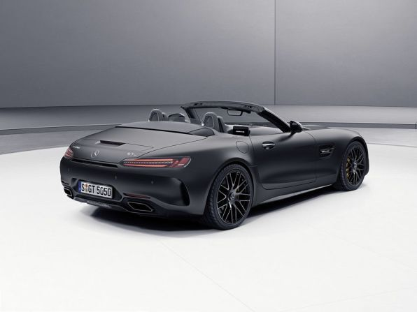 Mercedes-AMG GT C Roadsters Edition 50 Heck